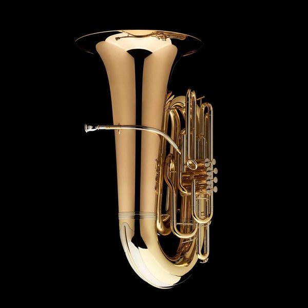 "An image of the back of a BBb 6/4 Front-Piston Tuba ""Grand"" from Wessex Tubas"