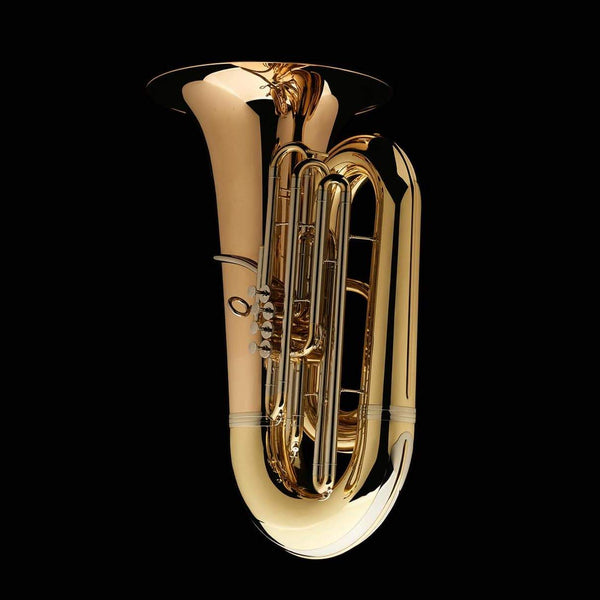 "An image of the front of a BBb 6/4 Front-Piston Tuba ""Grand"" from Wessex Tubas"