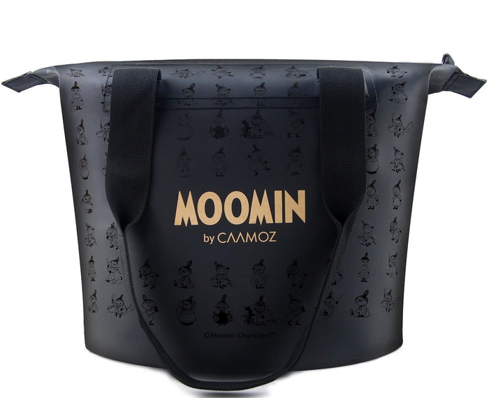 Black Waterproof Moomin Handbag by Caamoz