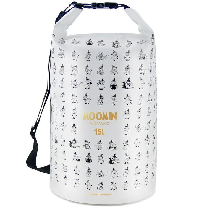 White large 15L moomin drybag with characters - Caamoz
