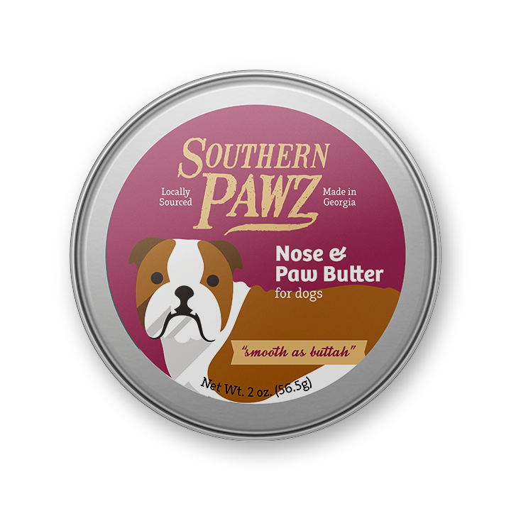 "Nose and Paw Butter ""smooth as buttah"" - 2 oz tin"