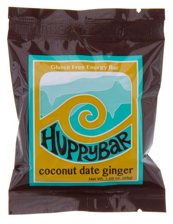 Huppybar Coconut Date Ginger Bar Case