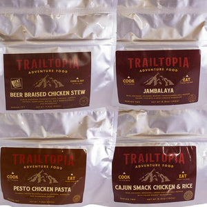 Trailtopia Meat Lovers 4 Pack