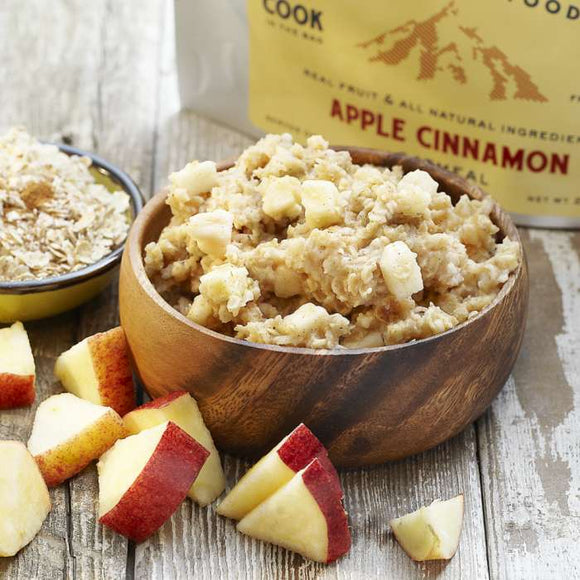 Trailtopia Apple Cinnamon Oatmeal