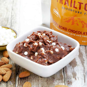 Trailtopia Rocky Road Pudding