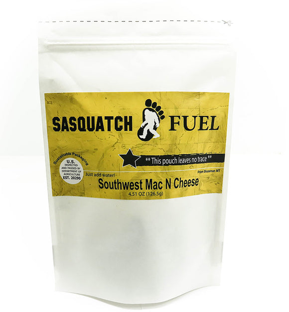 Sasquatch Fuel Southwest Mac N Cheese