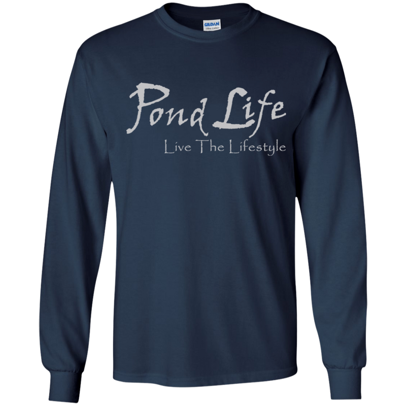 Pond Life Classic Logo Youth LS T-Shirt