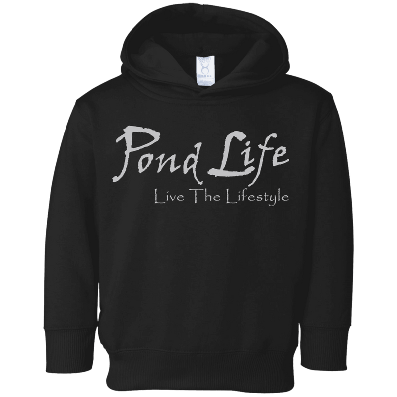 Pond Life Classic Logo Toddler Fleece Hoodie