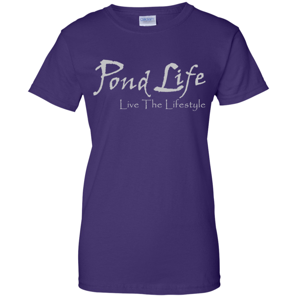 Pond Life Classic Logo Ladies' 100% Cotton T-Shirt