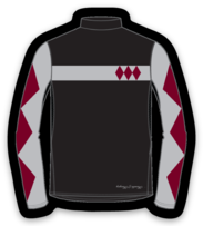 Sagamore Jockey Silks Sticker
