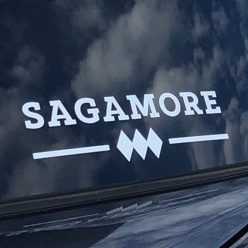 Sagamore Logo Car Decal