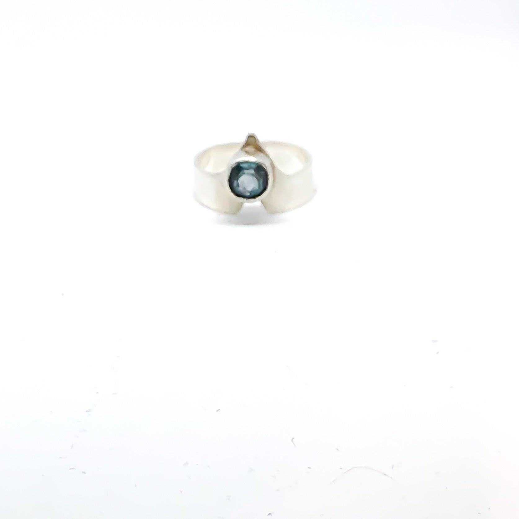 Highest Peak Blue Topaz Ring
