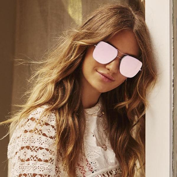 WHEN IT COMES TO SUNGLASSES, BIGGER IS ALWAYS BETTER