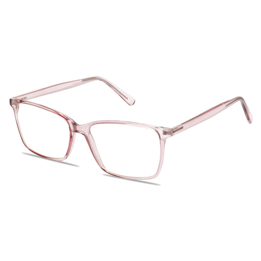 Jaxson Blue Light Blocking Glasses // Pink