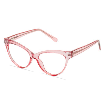 Lyfe Premium Acetate Blue Light Blocking Glasses // Pink