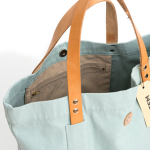 Atem Canvas Bag Idan Leather Strap