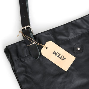 Black Leather Bag Lea