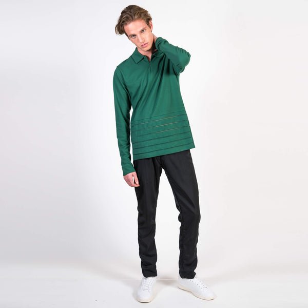 Cottweiler Golf Polo green