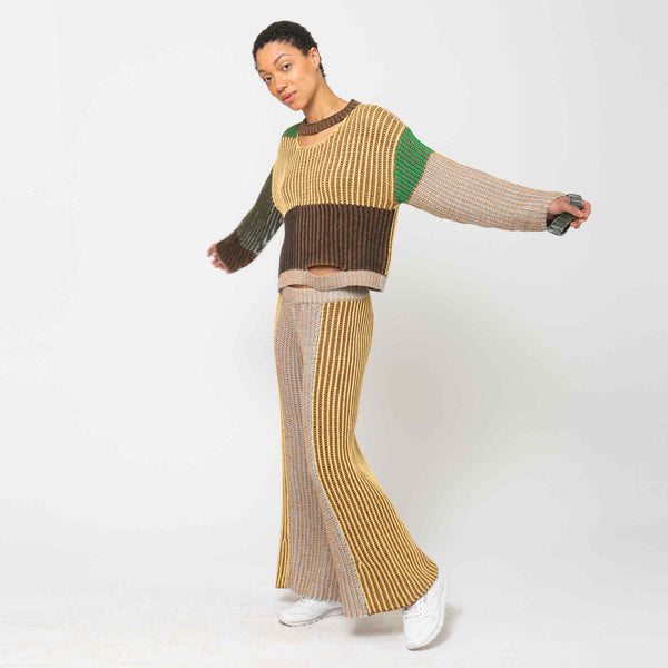 Wiggly Road Sweater