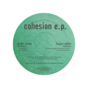 Aaron Palmquist - Cohesion EP