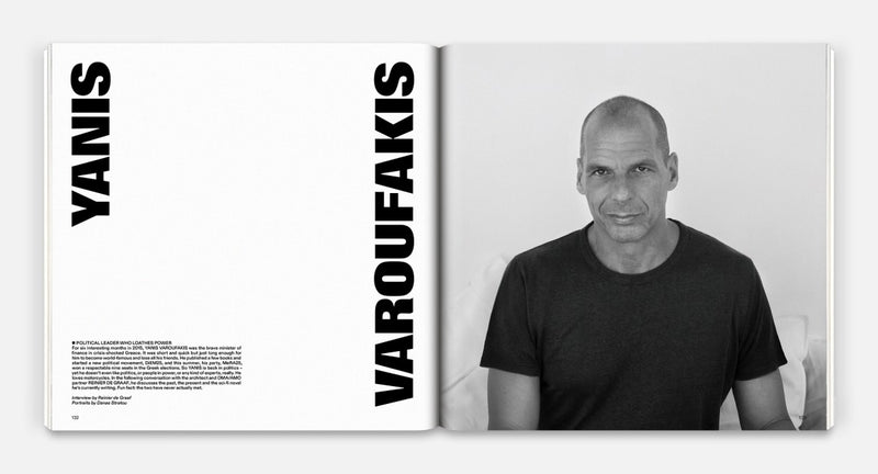 Fantastic Man 30 - In Greece Yanis Varoufakis
