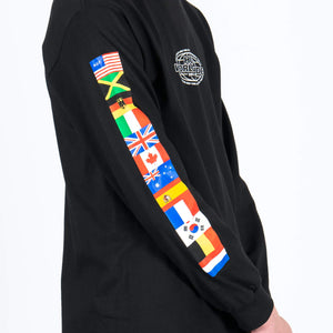 HUF World Tour Longsleeve Flags