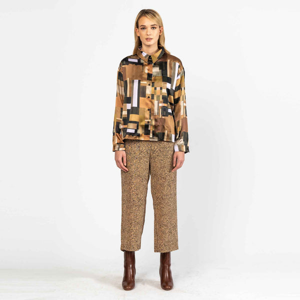 Blouse Phoebe Silky Weimar Print