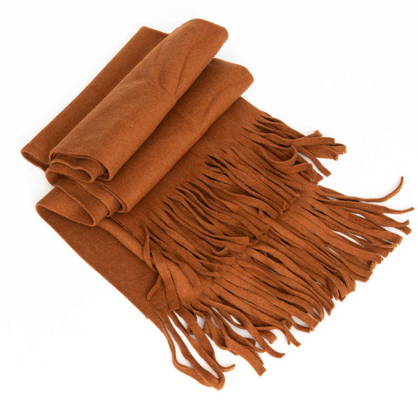 Fleece Scarf Manon Brick