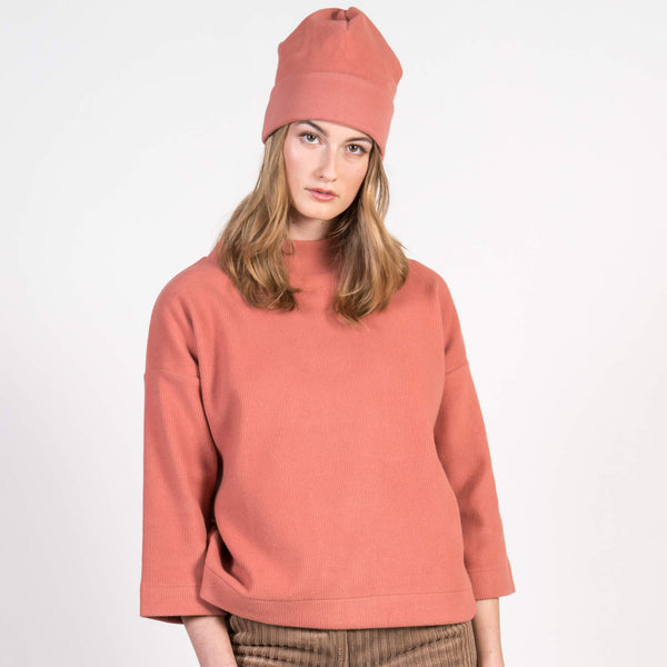Jan 'n June Beanie Haru Evening Sand Front