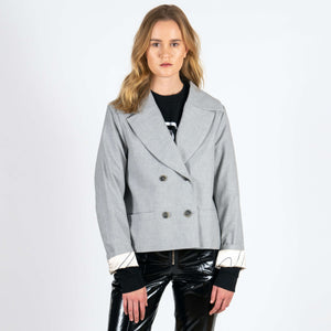 Jan 'n June Blazer Weedon Grey Front