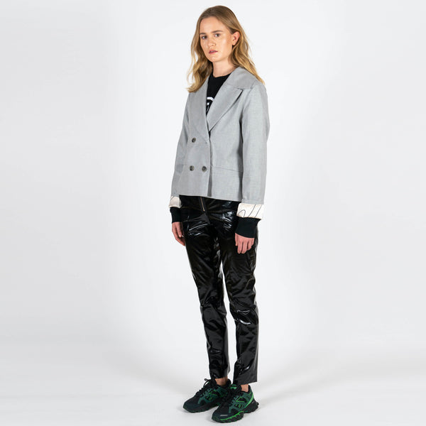 Jan 'n June Blazer Weedon Grey Side