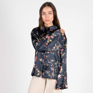 Jan 'n June Printed Wide Sleeve Blouse