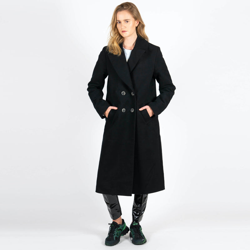 Jan 'n June Moleskin Coat Europa Black