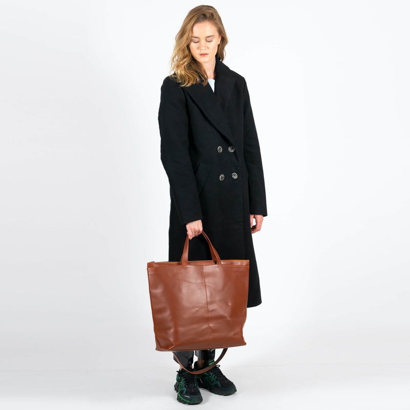 Jan 'n June Moleskin Coat Europa Black Isaac Reina