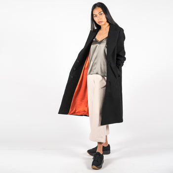 Moleskin Black Coat Europa