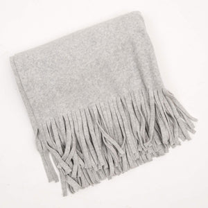 Jan 'n june Fleece Scarf Manon light grey