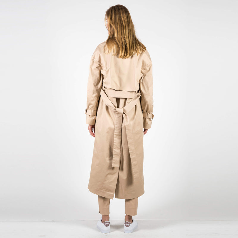 Trench Coat Milano Nude