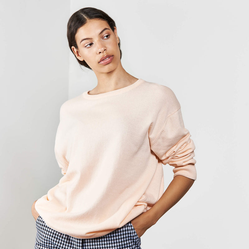 Knit Sweater Cali Cantaloupe