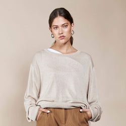 Knit Sweater Cali Sand
