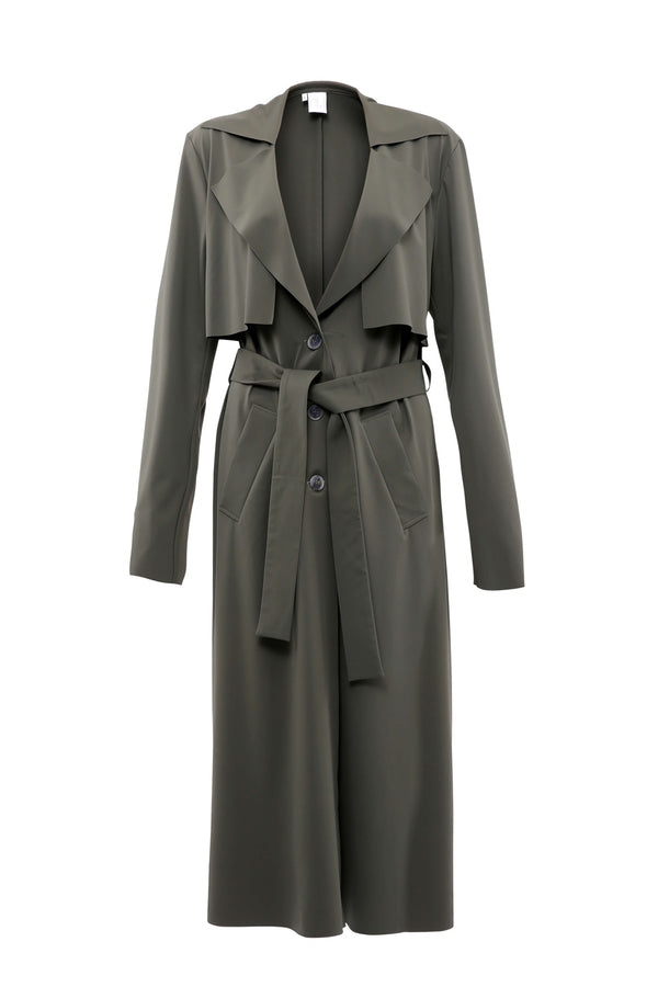 Trench Coat Lotic Olive