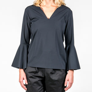 Fancy Sleeve Neoprene Top Briza
