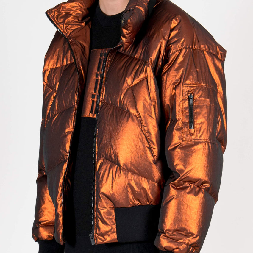 Metallic Down Jacket