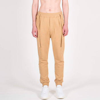 Wheat Laces Sweatpants