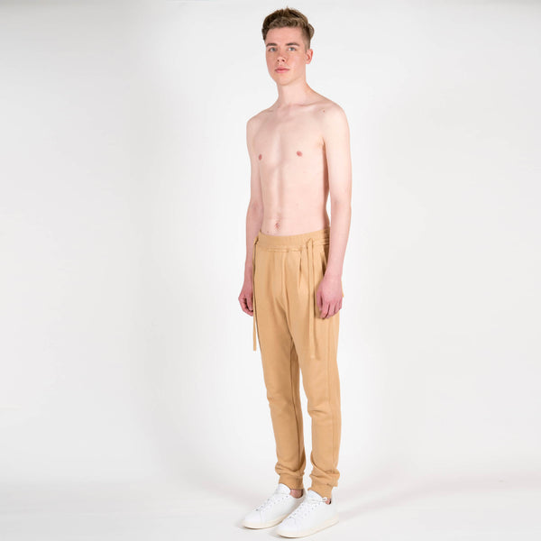 Junli Wheat Laces Sweatpants
