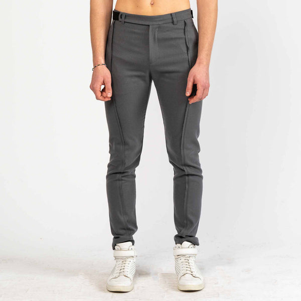 Slim Grey Trousers