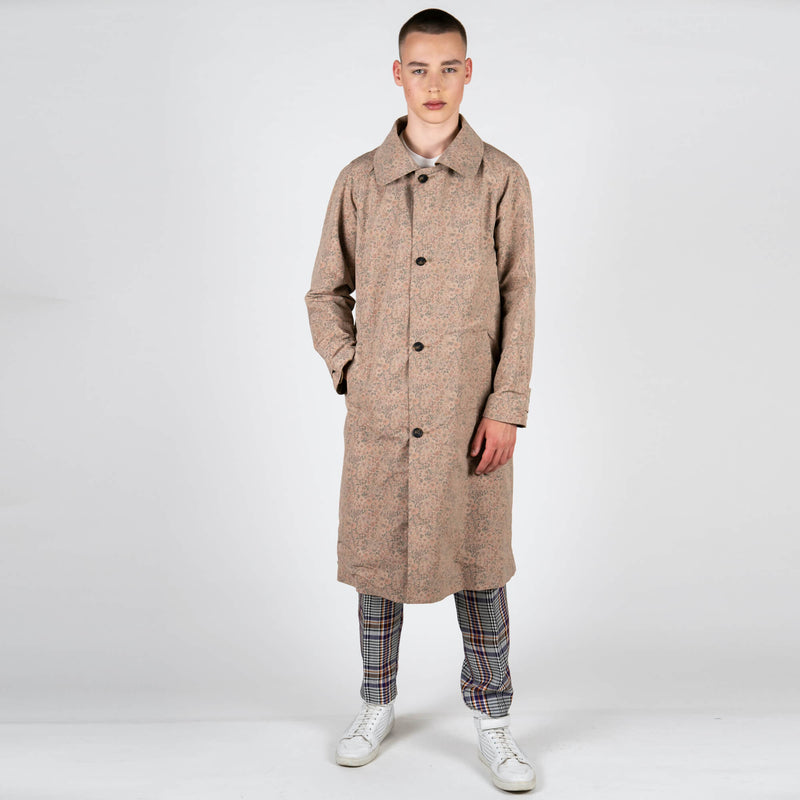 x Gloverall Reversible Hooded Mackintosh