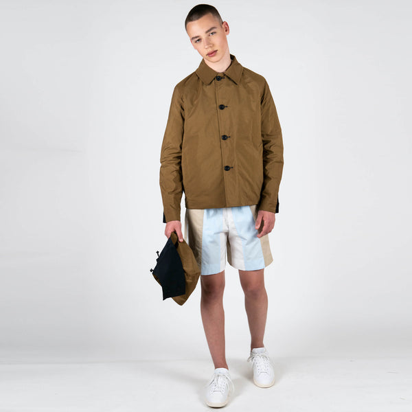 x Gloverall Reversible Hooded Mackintosh Short
