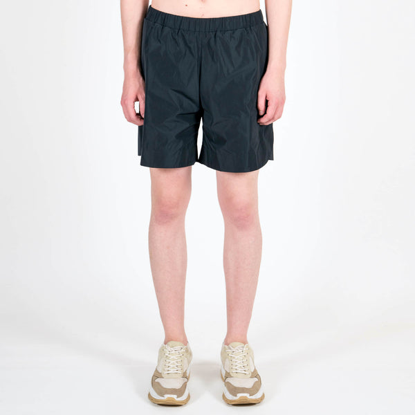 Navy Nylon Sport Shorts