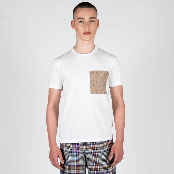 Floral Ripstop Pocket T-Shirt