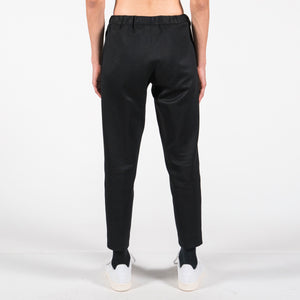 Structured Black Sports Pants
